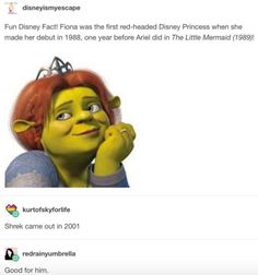 """This totally true fact. 