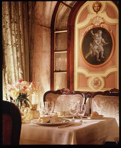 Hotel Gritti Palace, Venice—Restaurant Club Del Doge by Luxury Collection Hotels and Resorts, via Flickr