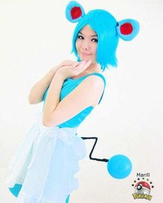 Marill is listed (or ranked) 18 on the list 22 Awesome Ladies Who Perfectly Embody Their Pokemon Cosplays Cosplay Diy, Cute Cosplay, Best Cosplay, Cosplay Girls, Awesome Cosplay, Cool Costumes, Cosplay Costumes, Halloween Costumes, 3d Realms