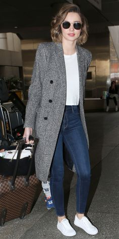 Where to Buy The Exact Outfits Celebrities Wear to the Airport - Miranda Kerr from InStyle.com