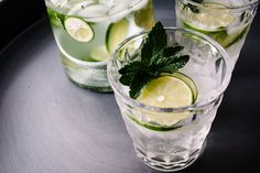 Lemongrass Mint Lime Spritzers by @Stephanie Close Close le   i am a food blog   west elm