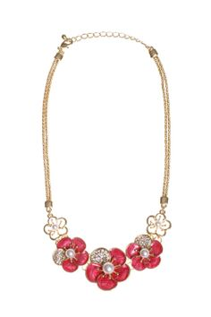 Dressing Your Truth - Type 1 Pink Petals Necklace