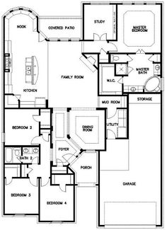 Isabella New Home Plan in Twin Eagles Executive Homes Florida
