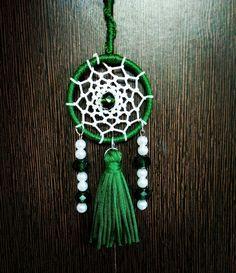 Aura's Peacock Green Tassel Dreamcatcher #dreamcatcher #auradreamcatchers #auracreationsdreamcatcher #boho #bohemianstyle #hippie #gypsy #nativeamericn #tasseldreamcatcher #tassel #peacockgreen #beads #crystalbeads #dreamcatchersbangalore #bangalore #pune #delhi #dreamcatchersindia #goa