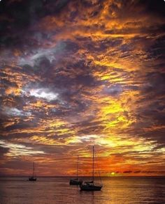 # Sunset on the Sea