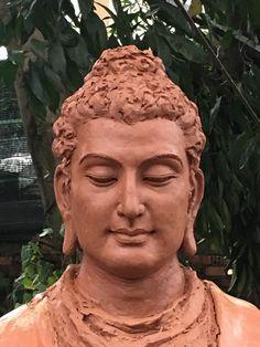 Buddha Sculpture, Sculpture Art, Buddha Wall Art, Buddha Tattoos, Meditation Art, Gautama Buddha, Samurai Art, Guanyin, Statue