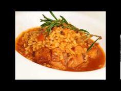 ▶ Recetas de cocina Arroz caldoso de pollo con conejo - YouTube