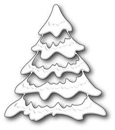 """Snowy Tree - $13.99  Size  3.4"""" x 3.9"""""""