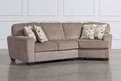 Ashley Patola Park 2 Piece Sectional W/Raf Cuddler Chaise