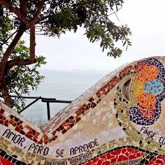 El Parque del Amor Miraflores #mosaico