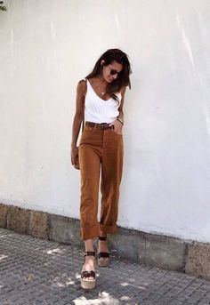 charming ideas about cute spring outfits which you definitely like page 20 Spring Summer Fashion, Autumn Fashion, Moda Fashion, Womens Fashion, Casual Outfits, Fashion Outfits, Swag Fashion, Fashion Hacks, Fashion Quotes