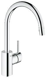Grohe Concetto Single-lever sink faucet. Love my Grohe kitchen faucet. They are pricey, but no plastic pieces to break unlike the Moen we used to have.