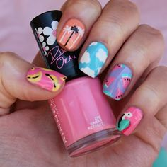 Queens birthday nail art with beauty at tesco ella quiere uas summer nails mix and match prinsesfo Choice Image