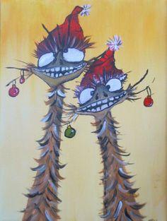 Emu christmas