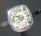 Old Mine Brilliant Ring: 1.42ct O-P SI1 Branded DBL Modern Antique Diamond GIA R5165