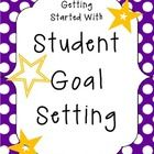 Everything you will need to strengthen student goal setting within your classroom!  This 32-page packet includes:  -Academic Goal Setting -Behavior...