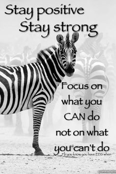 """""""Most think horses upon hearing hoofbeats, never considering zebras. Think… Chronic Fatigue Syndrome, Chronic Illness, Chronic Pain, Chronic Migraines, Síndrome De Ehlers Danlos, Elhers Danlos Syndrome, Multiple Sclerosis Awareness, Pain Quotes, Rare Disease"""