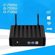 Windows 10 Mini PC i7 7500U i5 7200U i3 7100U DDR4 RAM mSATA Mini Desktop PC 4K UHD Support HDMI VGA WiFi Intel HD Graphics 620  Price: 242.00 & FREE Shipping  #tech|#electronics|#home|#gadgets Mini Pc, Ddr4 Ram, Buy Windows, 4k Uhd, Linux, Mobiles, Bluetooth, Led