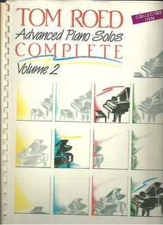 Tom Roed Advanced Piano Solos Complete Vol. 2 | Partiturespiano