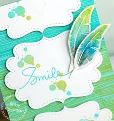 Betsy Veldman using, Paper smooches stamps, love it.the feather is really good. Paper Light, Paper Smooches, Card Sketches, Card Ideas, Stamps, Feather, Card Making, Crafting, Paper Crafts