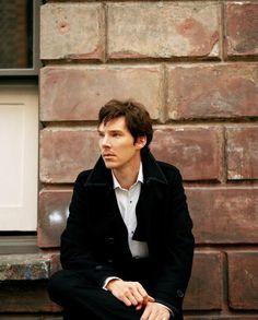 In love with Benedict Cumberbatch?   um... Yes.