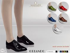 The Sims Resource: Madlen Orlando Shoes by MJ95 • Sims 4 Downloads
