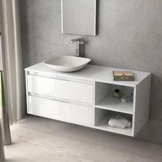 1000 ideas about tiroir suspendu on pinterest - Meuble sous vasque a poser ...