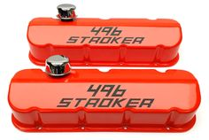 #BBC #bigblockchevy #racing #chevy #valvecovers #customized #customvalvecovers #496stroker #orangevalvecovers
