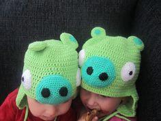 Angry Bird Bad Piggies Hat
