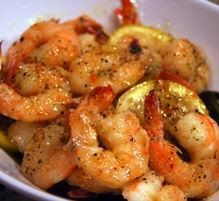 Ingredients:   1 lb. raw shrimp, cleaned, peeled and deveined   8 Tbs. butter (1 stick), melted   3 cloves garlic, minced (my...