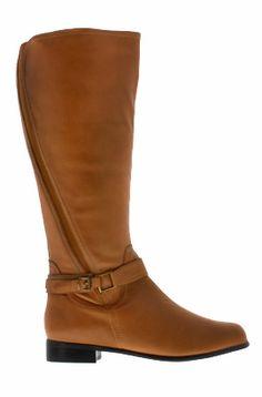 f0901f6d0d11 Rose Petals Women s Kylie Super Plus Wide Calf® Boot (Cognac) - Casual Boots