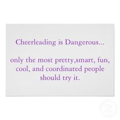 Cheerleading Sayings 1 10 From Votes Funny wallpaper