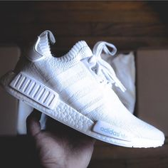 #footwear game - Adidas PrimeKnit NMD White by @oscar_castillo [ http://ift.tt/1f8LY65 ]