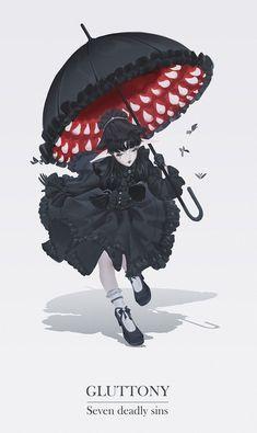 New wall paper dark fantasy concept art Ideas Art And Illustration, Fantasy Kunst, Fantasy Art, Anime Kunst, Anime Art, 7 Sins, Dark Art Drawings, Arte Horror, Monster Art