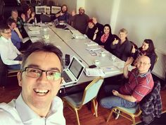 Smile!  Today's #groupselfie from my #ecommerce workshop on Bute.  Great day with some lovely people (and good chat!). We talked #eBay #etsy #amazon #wordpress #shopify #paypal and more!! #BusinessGateway #argyllandbute