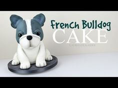 How to Make a 3D French Bulldog Cake - Laura Loukaides - YouTube