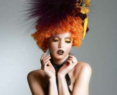 Most Colorful And Crazy Hairstyles   Chickypicky