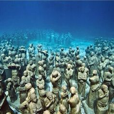 Underwater Museum in Mexico