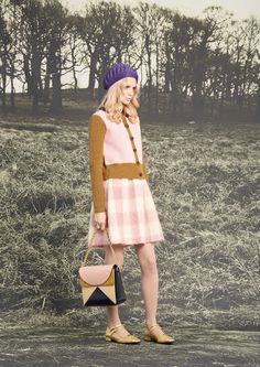 Orla Kiely Fall 2016 Ready-to-Wear Fashion Show  http://www.theclosetfeminist.ca/  Orla Kiely lookbooks and shows are never very diverse at all  http://www.vogue.com/fashion-shows/fall-2016-ready-to-wear/orla-kiely/slideshow/collection#7