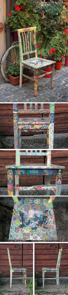 Gipsy Beauty and the Beast theme chair
