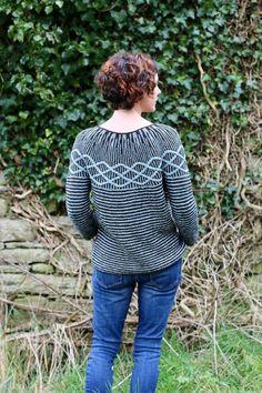 Ravelry: Ribosome pattern by Carol Feller Knitting Patterns, Knitting Ideas, Cardigan Pattern, Garter Stitch, Knitwear, Knit Crochet, Pullover, Ravelry, Knit Sweaters