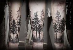 Bildergebnis für wolf tree tattoo