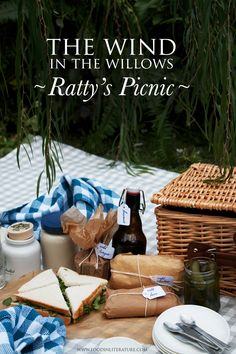 Ratty's Picnic from Wind in the Willows | www.FoodinLIterature.com