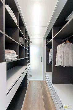 Moderna walk in closet dise o de vestuario en armarios de - Muebles casal valencia ...