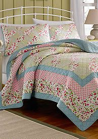 Laura Ashley Whitley Quilt Collection - Online Only