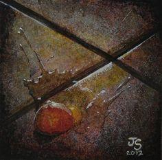 """""""The broken egg"""" - Original Fine Art for Sale - © by Jason Sunderland"""