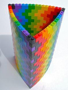 http://cdn.thebrickblogger.com/wp-content/uploads/2011/07/LEGO-1x2-Bricks-3-Sided-Vase-by-Todd-Wilder.jpg