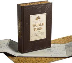 Louis Vuitton World Tour travel book