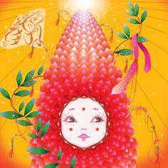 HUNDRED DAYS_O (2007)  60 X 60 cm Image size  www.daliroll.com