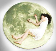 Giant Moon Floor Pillow